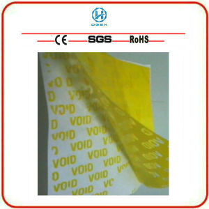 Partial Transfer Tamper Evident Printing Material (ZX-03)