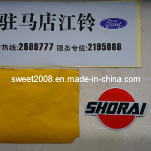 Customized Printing Reflective Film Sticker pictures & photos