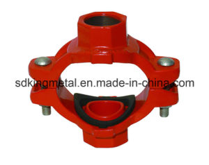 Ductile Iron 300psi NPT Threaded Mechanical Cross pictures & photos