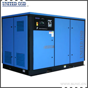 Industrial Electric Rotary Screw Air Compressor with Top Brand