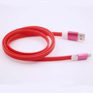Self-Winding Line TPE Model Phone Case Interface Charging Cable for iPhone (XSSJ-008) pictures & photos