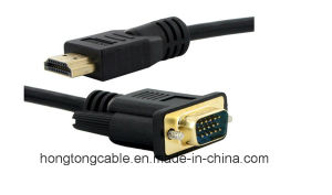 High Speed 1080P HDMI to VGA Cable