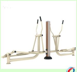 Wood-Plastic Elliptical Outdoor Fitness Equipment pictures & photos