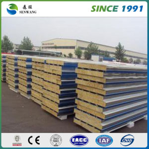 2017 Hot Sale Warm-Keeping Rock Wool Sandwich Panel pictures & photos