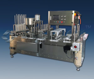 Yogurt Filling Sealing Machine Acfs-4A Capacity 6000cups/H
