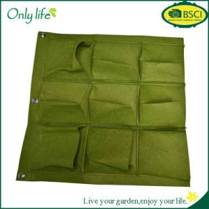 Onlylife Hot Sale Durable 9 Pocket Indoor Vertical Garden Planter pictures & photos