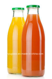 250ml, 500ml, 1000ml Milk Beverage Juice Glass Bottles