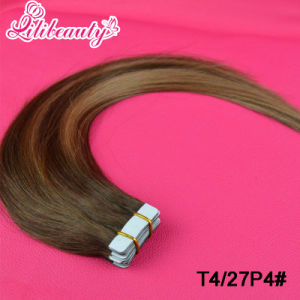2.5g/PC 100% Human Hair Tape in Hair Extensions pictures & photos