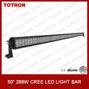 Super Bright Offroad LED Light Bar with 3W CREE LEDs (TLB3288) pictures & photos