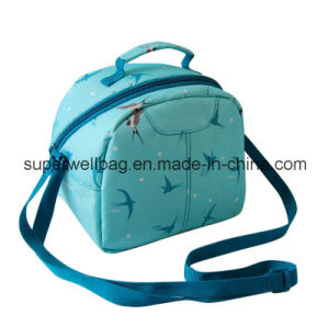 600d Polyester Zippered Insulated Lunch Bag Customized Lunch Cooler Lunch Bags with Zipper Closure pictures & photos