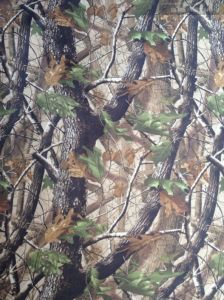 Nice Tree Camouflage Printing 600d Fabric! pictures & photos