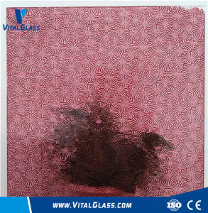Colored Patterned Glass/Tempered Figured Glass with Ce pictures & photos