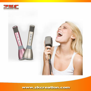 Popular K068 Handheld KTV Wireless Bluetooth Microphone Karaoke Player, Smartphone Microphone
