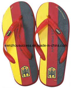 Beach Flip Flop Slippers (SS12-DE025) pictures & photos