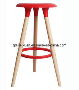 Solid Wood Bar Stool with Cheap Price M X