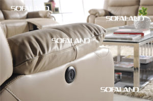 Modern Italy Leather Sofa Furniture (768#) pictures & photos