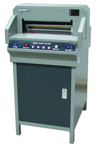 Brand Logo Automatic Label Paper Cutting Machine (4606Z) pictures & photos