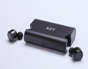 Bluetooth CSR V4.2 Noise Cancellation Wireless Ear Buds Earphone with Charging Case pictures & photos