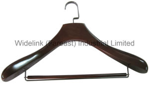 Wooden Hanger for Suit with Fsc Yd-0006-01, Natural Quality Brand New Hanger