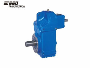 F Parallel Shaft Helical Gearbox Shaft Input pictures & photos