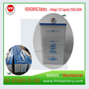 Pocket Type Ni-CD Rechargeable Battery /Nickel Cadmium Battery pictures & photos