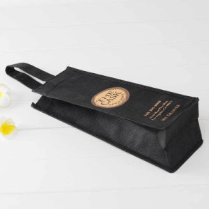 Promotion High Quality Logo Customized Wine Bag pictures & photos