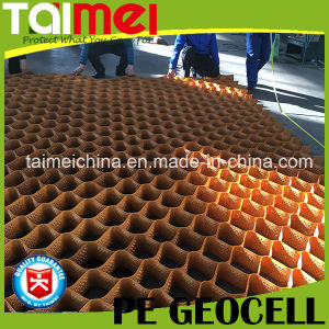 Virgin HDPE Geocell for Building Reinforcement Material pictures & photos