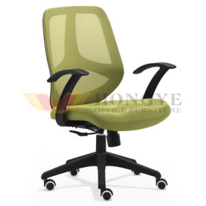 Fashion Design Mesh Chair with Solid Plastic Armrest for Office Furniture pictures & photos