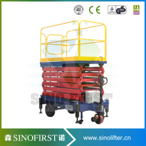 5m to 16m Self Driven Aerial Work Scissor Lift Platform pictures & photos