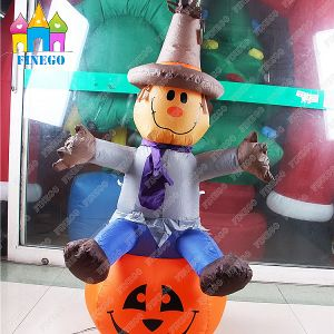 Halloween LED Spirit Festival Customized Inflatable Pumpkin Lamp Decoration pictures & photos