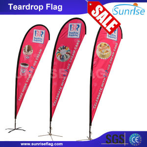 Factory Custom Advertising Beach Flag Banner pictures & photos