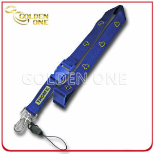 Blue Dye Sublimated Polyester Neck Lanyard for Promotion Gift pictures & photos