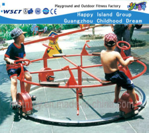 Outdoor Play Gym Fitness Equipment Revolving Bicycle Hf-21307 pictures & photos
