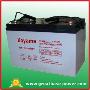 Good Quality Hybrid Wind Power System Battery 12V 85ah pictures & photos