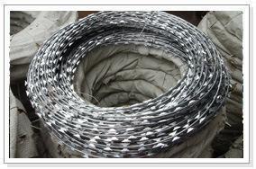 Razor Wire Fencing, Razor Barbed Wire, Razor Fencing Wire, Razor Blade Wire, Razor Wire Factory