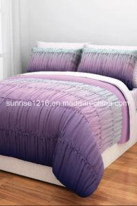 Quilt Sr-CS170222-10 Printed Microfiber Comforter Set pictures & photos