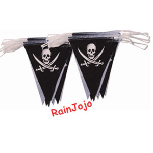 Party Decoration Triangle Flag Bunting with Pirate Printing pictures & photos