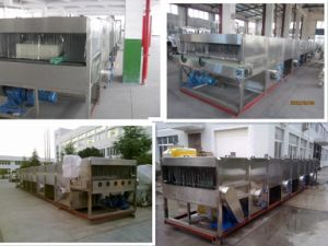 Stainless Steel Spray Type Sterilizer Tunnel Sterilizing Machine pictures & photos