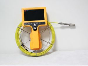 Push Rod Drain Inspection Camera with 50mm Camera Lens, 7′′ LCD, 60m Testing Cable pictures & photos