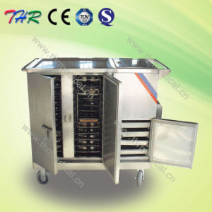 Stainless Steel Electric Control Food Trolley (THR-FC001)