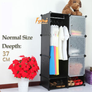 Black Plastic DIY Storage Cbinet with Many Colors Available (FH-AL0523-3) pictures & photos