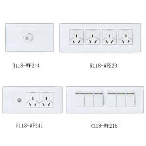 Wall Switch and Socket (R118-WF Series) pictures & photos