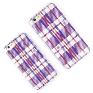 Latest Fashion Grid Pattern TPU Case for iPhone 66/Plus pictures & photos