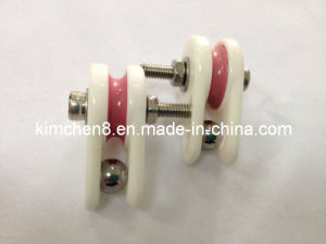 Caged Ceramic Pulley (NT007) Wire Jump Preventer Wire Guide Pulley pictures & photos