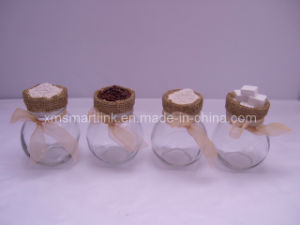 200ml Glass Spice Jar, Decorative Polyresin Decor Spice Glass Jar pictures & photos