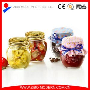 Clear Glass Mason Jar Glass Jam Jar pictures & photos