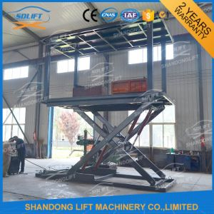 3t 3m Hydraulic Electric Car Scissor Lift Platform for Parking pictures & photos