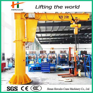 Mobile Rotated 2.8ton Jib Crane Small Crane Price pictures & photos