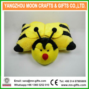 Hot Sale Plush Bee Pillow pictures & photos