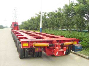 Multi-Axis Hydraulic Lifting Suspension Semi-Trailer pictures & photos
